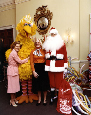 Big Bird 1976 Betty Ford