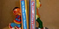 Sesame Street bookends (Enesco)