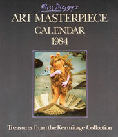 Miss Piggy's Art Masterpiece Calendar