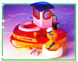 Tyco 1993 tub boat