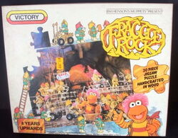 Victory 1983 fraggle puzzle