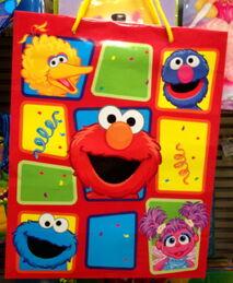 American greetings 2010 gift bag squares