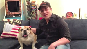 Geoff Johns 2014 Celebrity Pet Adoption Calendar