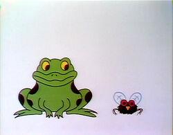 Frogflycartoon