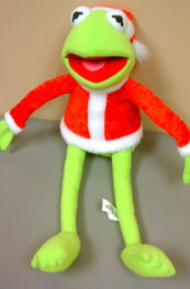 Toy factory 2007 kermit santa