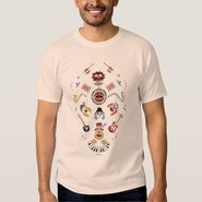 Zazzle electric mayhem iconic graphic shirt