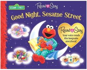 Good night sesame street record a story