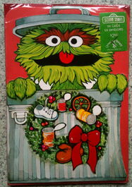Drawing board 1977 oscar christmas cards