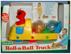 Tyco 1993 roll-a-ball truck