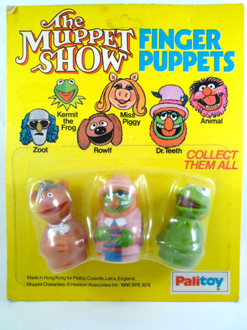 File:Palitoy muppet finger puppets fozzie doctor teeth kermit from greatest finger puppets.jpg