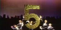 Five Onstage Dancers