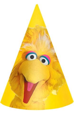 File:Big bird cone party hats.jpg