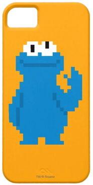 Zazzle cookie monster pixel art