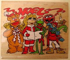 Inkadinkado noel muppet christmas stamp