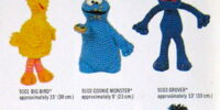 Sesame Street crochet doll kits