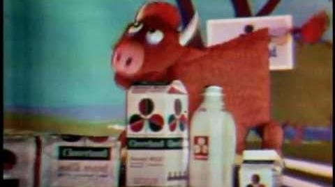 "Jim's Red Book ""Cloverland Cow"""