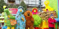 International Sesame Street crossovers