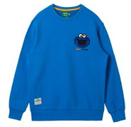 Pancoat crewneck cookie blue