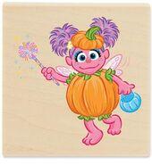 Stampabilities halloween abby cadabby