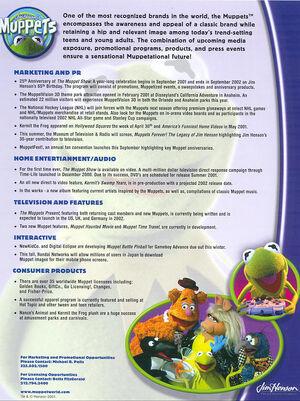 Press ad 2001
