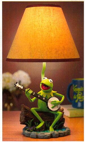 Disney store catalog 2005 kermit lamp