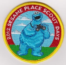 Sesame place patch scout days 2012