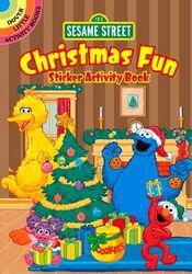 Dover christmas fun sticker