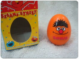Sanrio egg rubber stamp ernie