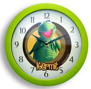 Clock wall kermit