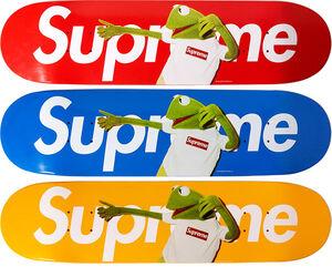 Supreme-Kermit-Skate-Decks