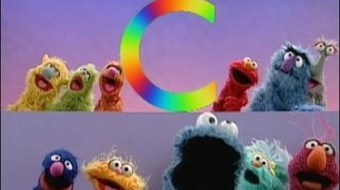 Sesame Street C Is for Cookie 2 with Cookie Monster