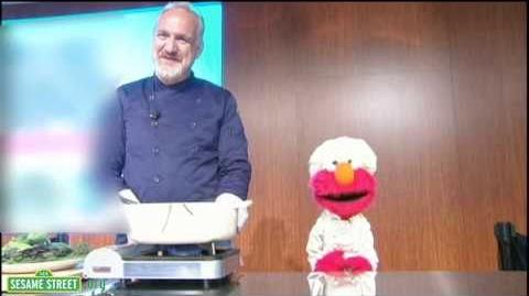 Ask Elmo and Chef Art Smith about Healthy Habits