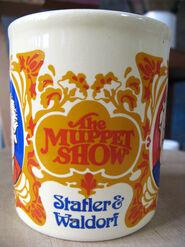 Kiln craft muppet show mug statler waldorf 2