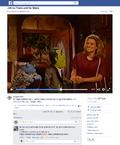 Cristina Barretta cameo Facebook