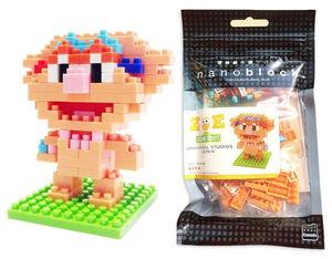 Sesame Nanoblocks Zoe package