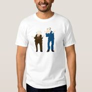 Zazzle statler waldorf standing shirt