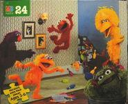 Milton bradley 1996 puzzle bowling