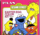 Sesame Street Easter egg kits (PAAS)