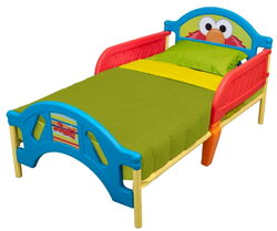 Delta children's products 2011 sesame street toddler bed