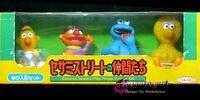 Sesame Street finger puppets (Takara)