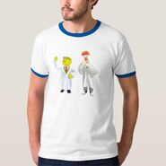 Zazzle bunsen beaker thinking shirt