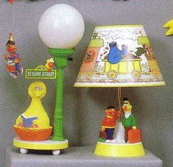 Dolly toy 1986 lamps