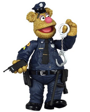 Patrol Bear Fozzie Action Figure