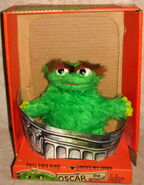 Topper educational toys 1971 oscar puppet with box 1