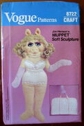 Vogue piggy soft sculpture wardrobe 3