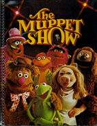Stuart hall 1977 notebook muppet show cast