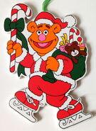 Kurt adler muppet christmas carol flat christmas ornaments 2