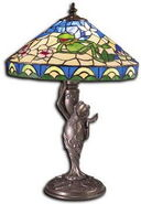 Glassmasters kermit tiffany lamp 8