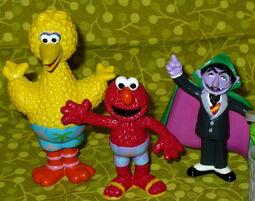 Sesame place 2007 pvc figures set 3