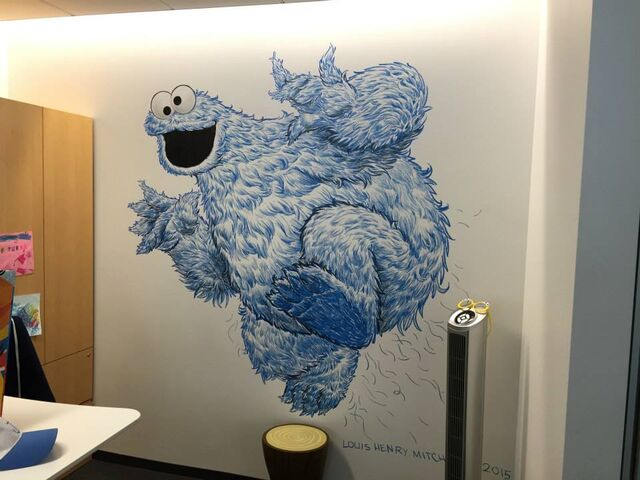 File:Wall art louis henry mitchell.jpg